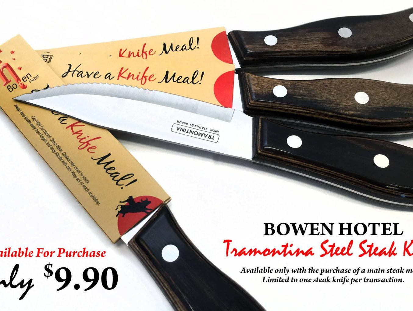 Tramontina Steel Steak Knife